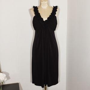 Maggy London black cocktail dress size 6